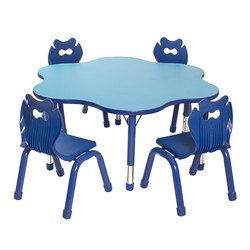 School Table and Chair Set
