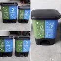 Plastic Nilkamal Wheel Dustbin Size 120 Ltr