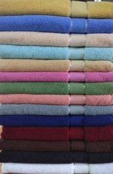 Varahaa Exports Plain 250 GSM Cotton Bath Towel, For Hotel,Home