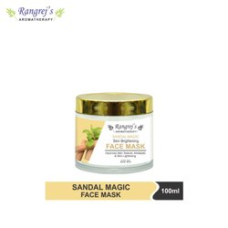 Rangrej''s Aromatherapy Sandal Magic Face Mask For Glowing & Brightening Skin 100ml