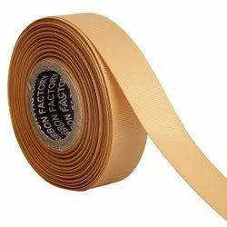 Gross Grain - Gold Ribbons 25mm/1''inch Gross Grain Ribbon 20mtr Length