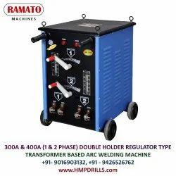 RAMATO 400A Double Holder ARC Welding Machine