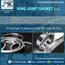 Stainless Steel Ring Joint Gasket, Thickness: 5-10 mm
