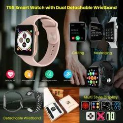 T55 Smartwatch with Dual Belt