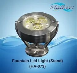 Fountain LED Light With Stand