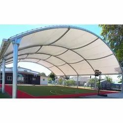 Playground Covering Tensile Structure