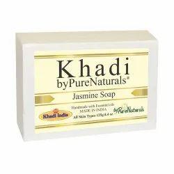 byPureNaturals Khadi Transparent Jasmine Soap-125gm