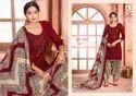 Stitched Pashmina Dress