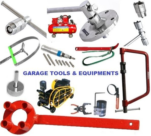 Two Wheeler Garage Equipment