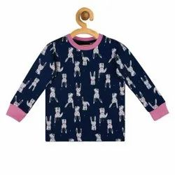 Unisex Hosiery Night Suits For Kids