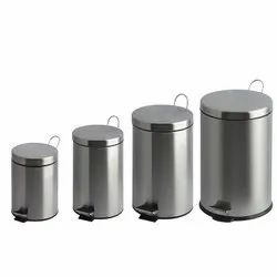 Stainless Steel Pedal Waste Bins