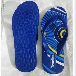 Truelite Men's Rubber Hawai Slipper, Size: 4-9