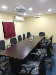 Mild Steel Galvanized Office Cabin Gujrat, Seating Capacity: 15 To 18 Person