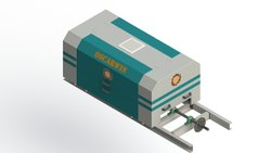 Electronic Jacquard 960 Hooks on Shuttle Loom