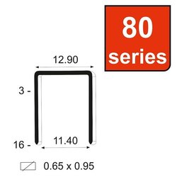 Industrial Staple Pin 80-12