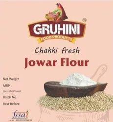 Gruhini Indian Jawar Flour, Packaging Type: Packet