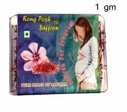 1 Gm Natural Saffron for Pregnant, For Food