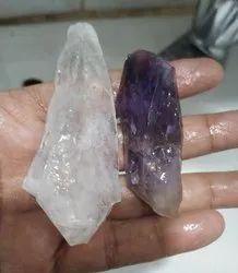 Rough Crystal Amethyst Set