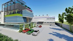 Commercial Building Residential Area Civil Construction, For Commercial And Residential, 2000 Sq Ft