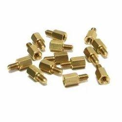 Thumb Screw Hexagonal Brass Fastener, Size: 4 - 15 Mm