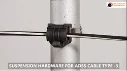 MMPT Aluminium Alloy Suspension Assemble / Set For ADSS Cable Type 3, For Industrial, Cable Size: 14MM