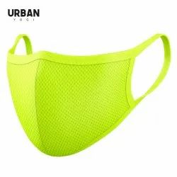 Neon Face Mask High Visibility Custom Logo Mesh Pro Urban Mask