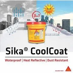 Liquid White & Grey Shade Waterproofing And Heat Reflective Coating System: Sika Cool Coat