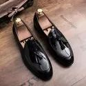 Lace Up Black Men Formal Shoes, Size: 6 To 10