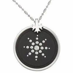 Diamond  plus ring Scalar Energy Pendants