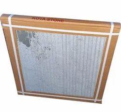 Gloss White Kota Tiles, Thickness: 20 Mm