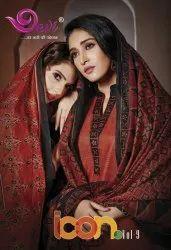 Devi Icon Vol-9 Printed Cotton Dress Material Catalog Collection