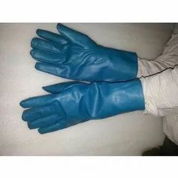 Blue X Ray Protective Lead Gloves