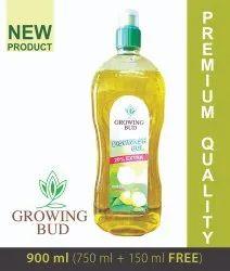 GROWING BUD Dishwash Gel, 1 Kg, Packaging Size: (750ml+150ml) 900 Ml