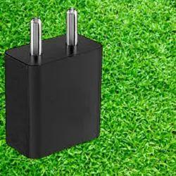 Plastic Black Mobile Charging Adapter, 18v