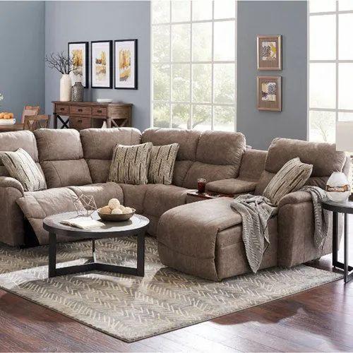 velvet recliner chaise lounge sofa set