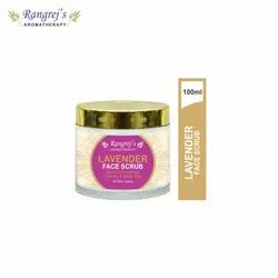 Rangrej''s Aromatherapy Lavender Face Scrub For Radiant Glowing Skin 100ml