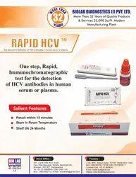 Hcv Hepatitis C Rapid Test Card