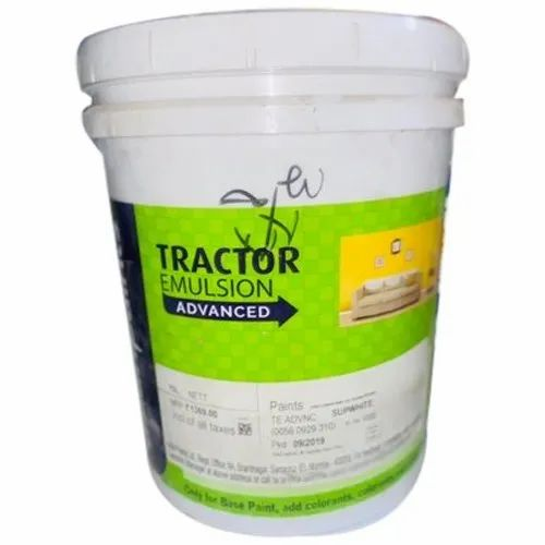 White High Gloss Tractor Emulsion Advance Asian Paint Packaging Size 10l Rs 1500 Piece Id 22817186397