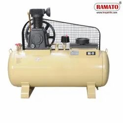 RMT-11 5 HP 2 Piston Single Stage Air Compressor With 200 LTR Tank
