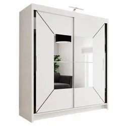 Double Door Metal Wardrobe