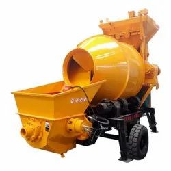 Hydraulic Concrete Pump Mixer