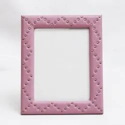 mdf Leather Photo Frames, For Decoration, Size: 6'' X 8''