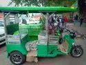 Battery Operated Passenger Electric Rickshaw