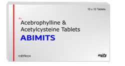 Acebrophylline & Acetylcysteine Tablets
