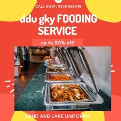 2 Years Indian DDU GKY FOODING SERVICE, in ANYWHERE, Daily