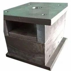 Mild Steel Silver Plastic Box mould, For Moulding