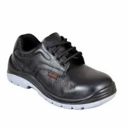 Lace Up Black Houston Blk Lining Safety Shoe Corporate Casuals For Men, Size: 8