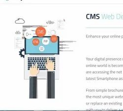 PHP/JavaScript CMS Web Design, With Online Support