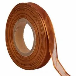 Organza Satin - Caramel Ribbons 25mm/1''inch 20mtr Length