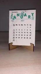 2022 Desktop Calendar.English Screen Printing Desk Calendar April 2021 March 2022 For Office Rs 65 Piece Id 22900900512